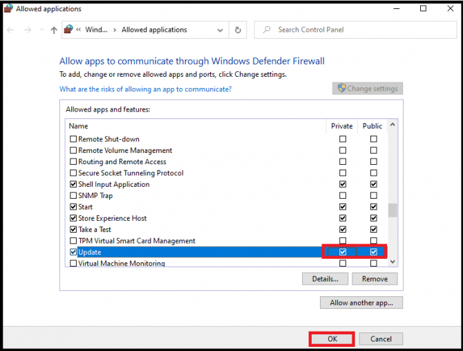 Allow Discord to communicate through Windows Defender Firewall