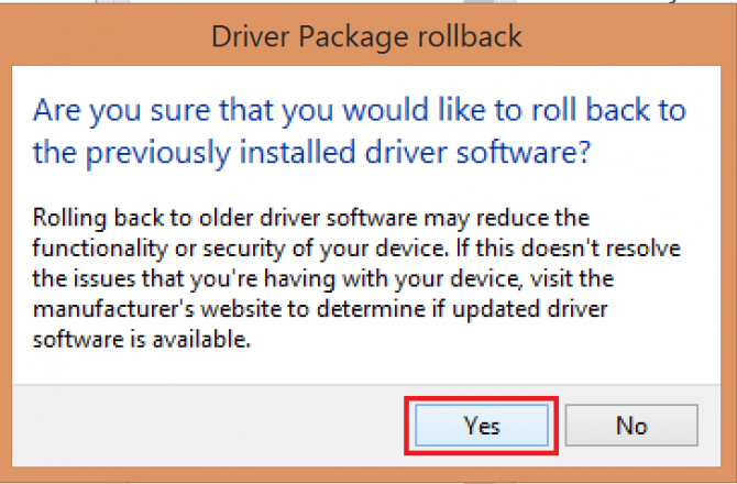 confirm rollback