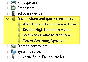 Device Manager - Where to Find Sound Drivers