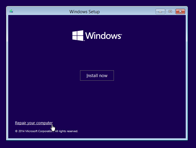 How to Get to Command Prompt From Windows 10 Installation Screen.