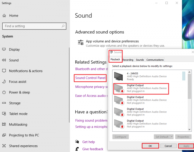 How to Disable Non-Default Audio Devices