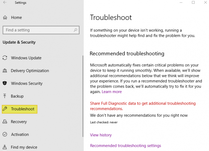How to Troubleshoot.