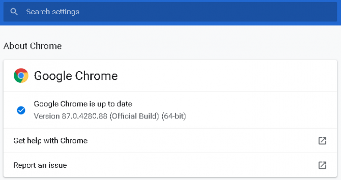 How to manually update your Google Chrome