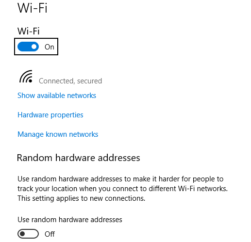 How to Enable Random Hardware Access