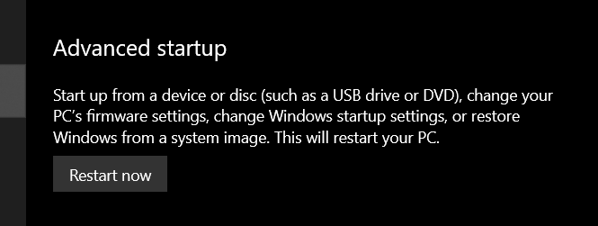Use Advanced System Startup to do a System Restore.