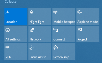 Find Bluetooth Option in the Notification Screen to Turn Off and On