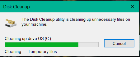 Cleaning up drive OS